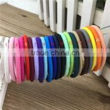 EA-271 4mm Elastic Kids Hairband with NO Buckle Elastic Hair Ties for Baby Accessories 22colors IN STOCK Free Shipping
