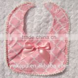 Hot sale lovely cotton baby bandana bibs for baby
