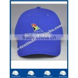 china manufacturer navy blue cotton twill six panel baseball cap