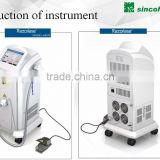 Beijing Sincoheren Lightsheer diode laser hair removal Cheap Medical Equipment Laser 2014,hair removal cream for men