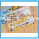 Hot Sale 6pcs School Accessories Custom Printing Kids Gifts Pencil Set With Box