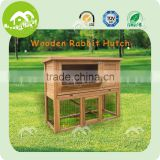 Hot Selling Commercial Wholesale Cheap Double Wooden Rabbit Cage Breeding With Plastic Tray For Sale,rabbit cage cheap