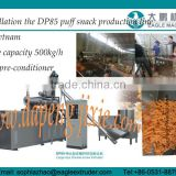 DP85 500kg/h snack Double screw extruder/twin screw extruder for snacks with CE certificate