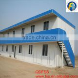 lowest cost prefab house light weight steel structure prefab house