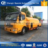 CLW PTO drive high pressure pump sewer pipe dredge cleaning truck with 5000 liters tank volume