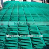"4ftx8ft welded mesh sheet/railway station security fence/reinforced fence netting 4""x4"""