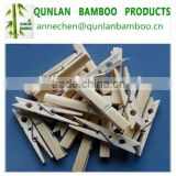 Hot selling natural bamboo clothe pin/bamboo cloth pegs