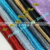 2017 New Decorative Shimmering Metal Mesh Fabric for Curtain