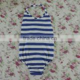Persnickety Boutique classical stripe Toddlers swimwear swing top one-piece cotton clothing wholesale 2016