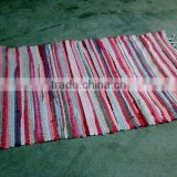 cotton mat by hand made with cheap price