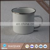 stainless steel rim enamel cup bulk enamel mugs wholesale items for sublimation