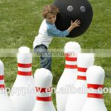 New design bowling game,inflatable bowling,Giant inflatable human bowling with CE certificate