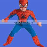Hot selling the Amazing Spider-man Movie Muscle Costume