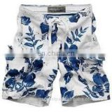 Custom sublimated flower board short - Custom sublimated flower swimming shorts - beach shorts