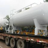 LPG storage tank, 20M3 LPG skid filling station, Double nozzle dispenser 10MT LPG skid station