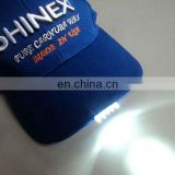 Cap with led lights new arrival style cap with lights for male