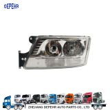 Zhejiang Depehr Heavy Duty European Tractor Body Parts Head Light MAN TGS TGX Truck Head Lamp 81251016497