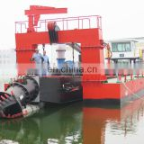 New hydraulic cutter suction dredging equipment with underwater pump
