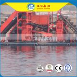 Small Sand Gold Mining Dredger Boat