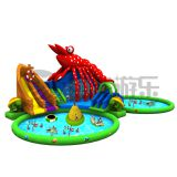 cheap giant inflatable pool slide for adult,kids inflatable water slide for sale