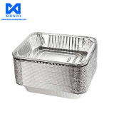 Good quality aluminum foil box aluminum foil plate used for food packaging