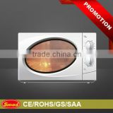 Mechanical timer control microwave oven