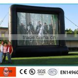 2014 Popular Movie Theater Screen Inflatable Movie Screen                                                                         Quality Choice
