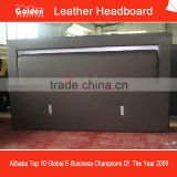 2853# alibaba italian leather headboard for round bed