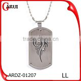 Indian Silver Jewelry Engrave Custom Boy Charms Pendant