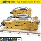 high quality korean Soosan open/top type hydraulic concrete breaker for KOBELCO excavator