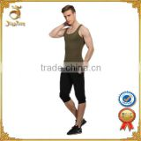 high quality sexy mens tank top shape body tank top slim stomach body