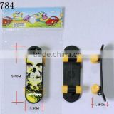 Plastic finger skateboard toys for boys and girls birthday gift OPP bag