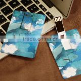 Printing Plastic Card Usb Flash Drive 128Mb                                                                         Quality Choice
