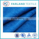 100%polyester blue short hair fabric sofa cover cloth fabric fleece fabric