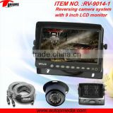 RV-9014-1V backup camera system 9inch digital LCD monitor, HD CCD camera, ideal for truck/RVs/commercial vehicles