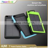 Waterproof Portable Solar power bank charger removable battery storage batteries for solar panels