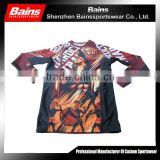Lycra fabric mens compression shirts/wholesale compression shirts/sublimation custom printed compression shirts