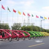 Velo Taxi 3 Wheel Electric pedicab Tricycle for Passenger