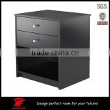 Modern bedroom furniture wooden chest of drawers night stand