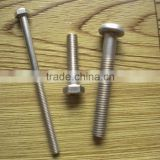 304 SS ground screw for screw making machine prices