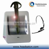Fashionable high quality noise cancelling call center computer cordless phone headset CW-3000