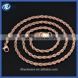 Alibaba Byzantine Stainless Steel Chain Necklace & 18k Gold Bracelet tribal necklace for Men Jewelry
