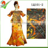 wholesale african women bazin riche dress fashion lady maxi dress ankara maternity dress