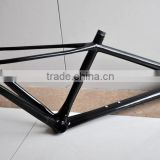 17.5 inch carbon mountain bike frame conical head tube