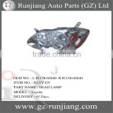 Lighting System Head Lamp(USA TYPE) For Toyota Corolla 2003 OEM.L 81170-02640 R 81130-02640