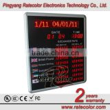 6 digits 7 segment led display for currency exchange rates