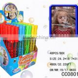 Bottom price hot sale labeling bubble wand toy