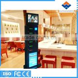 Wifi function wireless charge mobile phone charging kiosk with advertising screen for airport APC-06A