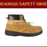 hot-sell goodyear welted nubuck leather workman safety shoes