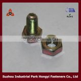 High Quality Color Galvanized Bolt And Nut In Hexagon Head Shape